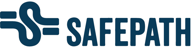 Logo - Safepath AS - blå